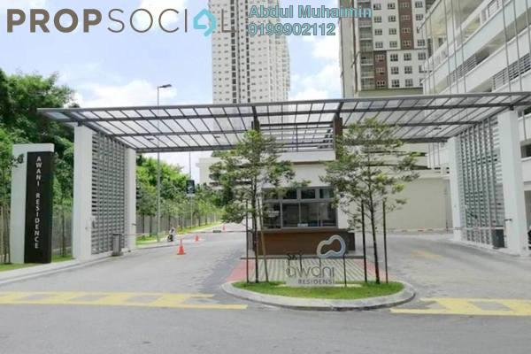 For Rent Condominium at SkyAwani, Sentul Freehold Semi Furnished 3R/2B 1.3k