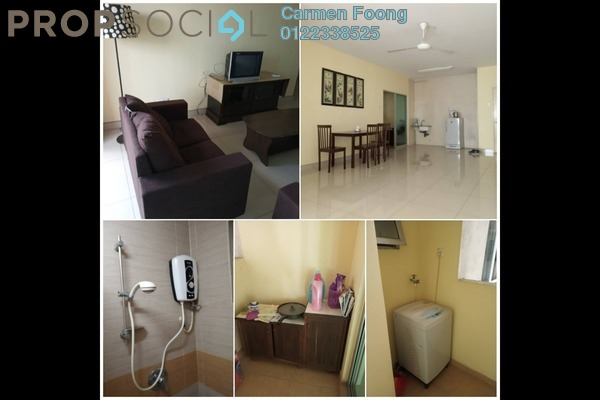 For Rent Condominium at Dynasty Garden, Kuchai Lama Freehold Semi Furnished 3R/2B 1.6k