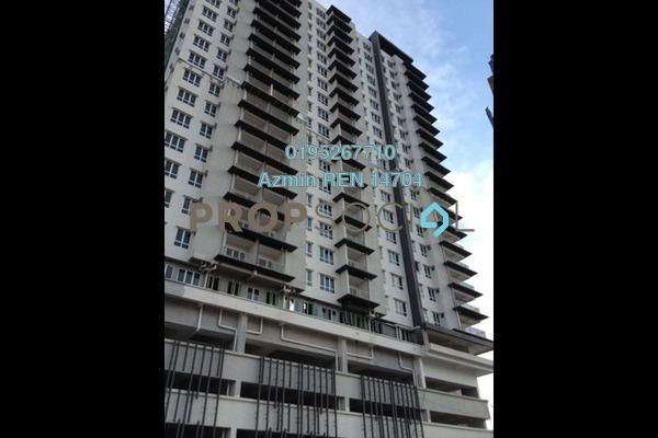 For Sale Condominium at Seri Puteri, Bandar Sri Permaisuri Freehold Unfurnished 3R/3B 510k