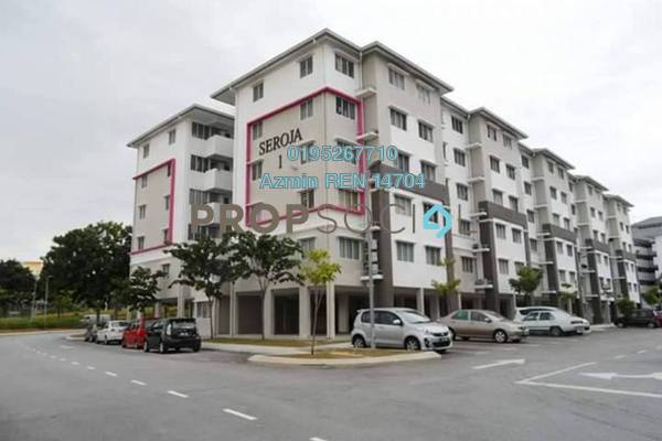 For Sale Apartment at Seroja Apartment, Setia Alam Freehold Unfurnished 3R/2B 150k