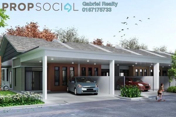 For Sale Terrace at Iringan Bayu, Seremban Freehold Unfurnished 3R/2B 270k