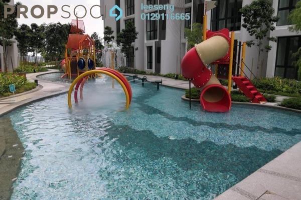 For Rent Condominium at H2O Residences, Ara Damansara Freehold Semi Furnished 3R/2B 1.65k