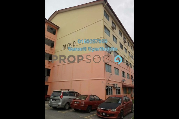 For Sale Apartment at Taman Aman Perdana, Klang Freehold Unfurnished 3R/2B 130k