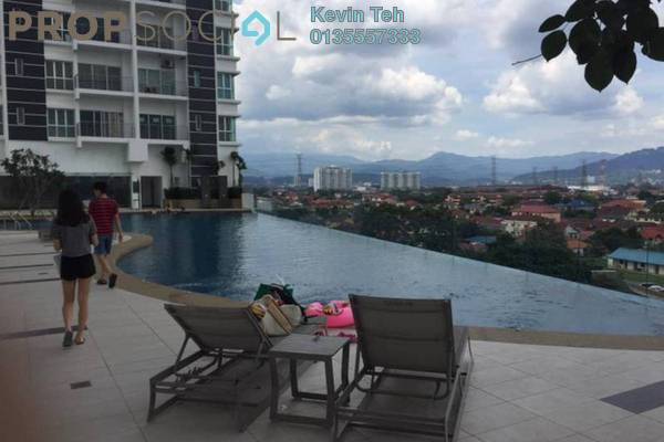 For Rent Condominium at DeSkye Residence, Jalan Ipoh Freehold Semi Furnished 3R/2B 1.5k