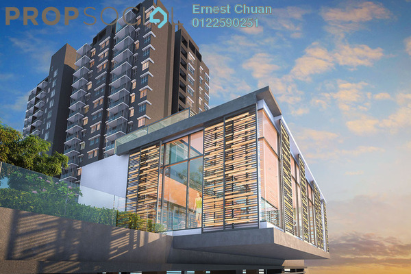 For Sale Serviced Residence at Seksyen 32, Bukit Rimau Freehold Semi Furnished 2R/2B 380k