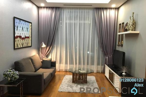 For Rent Condominium at Vipod Suites, KLCC Freehold Fully Furnished 1R/1B 3.8k