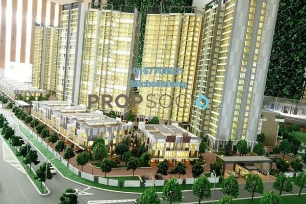 For Sale Condominium at Taman Bayu Puteri, Johor Bahru Leasehold Semi Furnished 3R/3B 580k