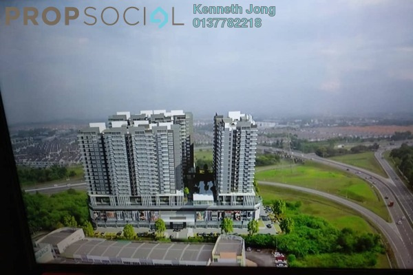For Sale Serviced Residence at Seksyen 32, Bukit Rimau Freehold Semi Furnished 2R/2B 360k