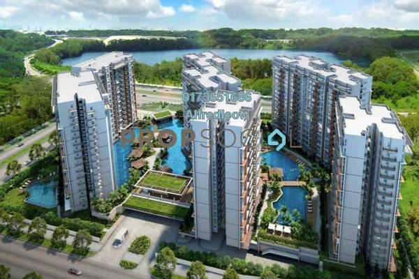 For Sale Condominium at Salak South Garden, Sungai Besi Freehold Fully Furnished 3R/3B 350k