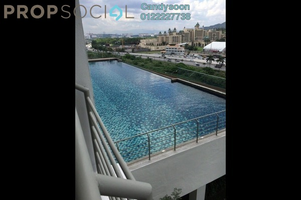 For Sale Serviced Residence at Gardenz @ One South, Seri Kembangan Freehold Fully Furnished 3R/2B 538k