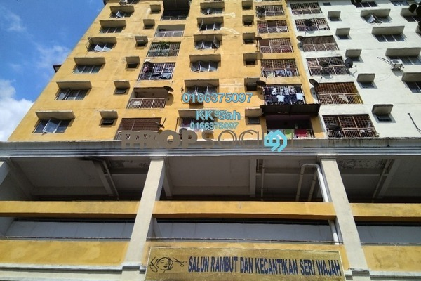 For Sale Condominium at Section 15, Shah Alam Leasehold Semi Furnished 3R/2B 279k