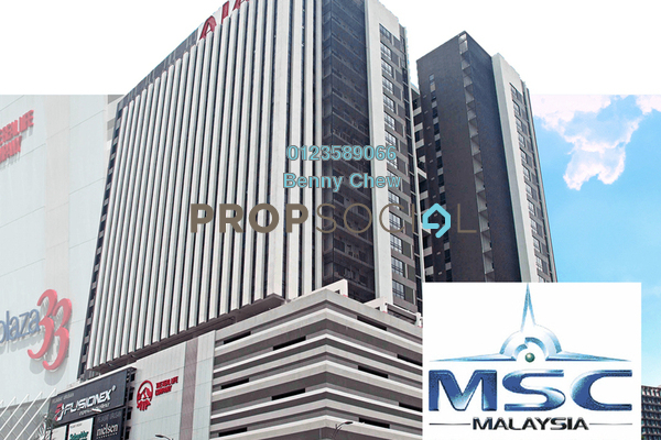 For Rent Office at Plaza 33, Petaling Jaya Freehold Semi Furnished 0R/0B 23.9k
