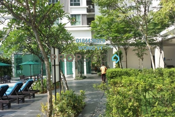 For Rent Condominium at Nautica Lake Suites @ Sunway South Quay, Bandar Sunway Freehold Fully Furnished 3R/3B 3.5k