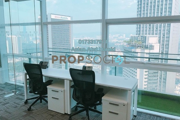 For Rent Office at Menara Axiata, KL Sentral Freehold Semi Furnished 0R/0B 2.5k