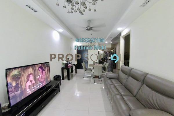 For Sale Serviced Residence at Saville, Melawati Freehold Fully Furnished 3R/2B 529k