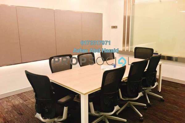 For Rent Office at Etiqa Twins, KLCC Freehold Fully Furnished 0R/0B 4.8k