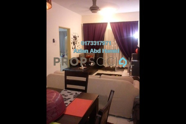 For Sale Apartment at Residensi Bistaria, Ukay Freehold Semi Furnished 3R/2B 280k
