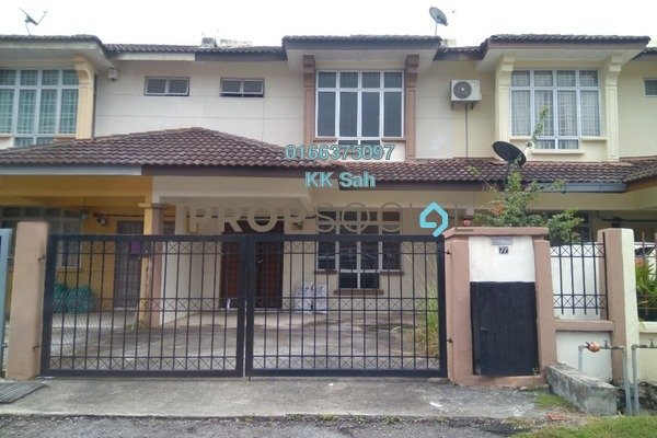 For Sale Link at Section 3, Bandar Mahkota Cheras Freehold Semi Furnished 4R/3B 470k