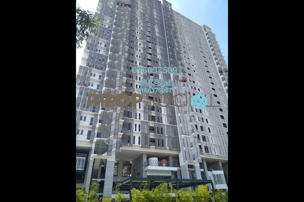For Sale Serviced Residence at Elevia Residences, Bandar Puchong Utama Freehold Unfurnished 3R/2B 608k
