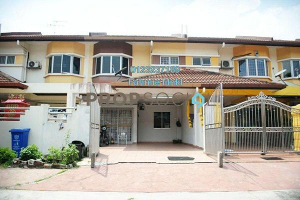 For Sale Terrace at Taman Desa Subang, Subang Leasehold Semi Furnished 4R/3B 599k