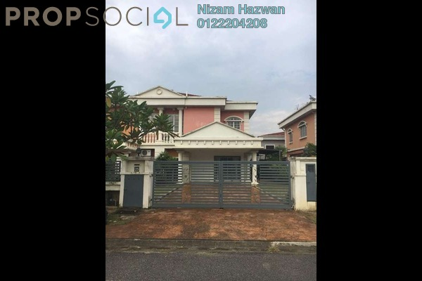 For Sale Semi-Detached at Bukit Bandaraya, Shah Alam Freehold Unfurnished 4R/3B 840k