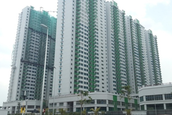 For Sale Condominium at OUG Parklane, Old Klang Road Freehold Semi Furnished 3R/2B 345k