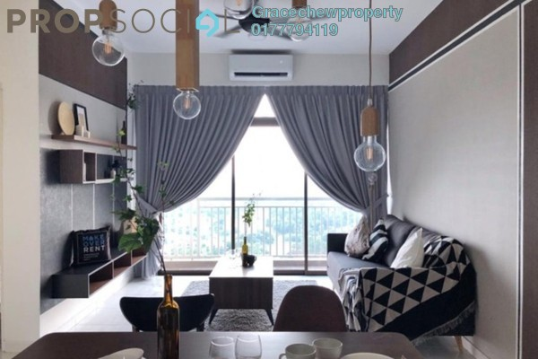 For Rent Apartment at Sky Garden Residences, Chemor Freehold Fully Furnished 2R/2B 2.08k