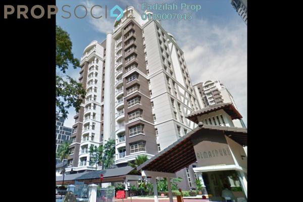 For Sale Condominium at Almaspuri, Mont Kiara Freehold Fully Furnished 3R/3B 1.2m