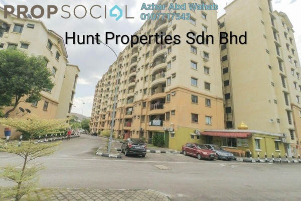 For Sale Apartment at Section 13, Shah Alam Freehold Semi Furnished 3R/2B 205k