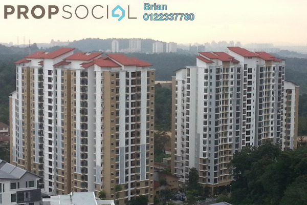 For Sale Condominium at Villa Park, Seri Kembangan Freehold Semi Furnished 4R/2B 430k