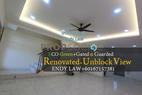 For Sale Terrace at Luciana, Setia Eco Gardens Freehold Semi Furnished 4R/3B 580k