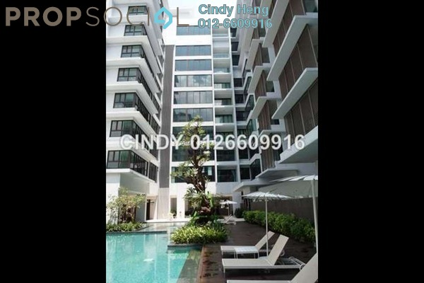 For Sale Condominium at Sastra U-Thant, Ampang Hilir Freehold Semi Furnished 3R/4B 2.8m
