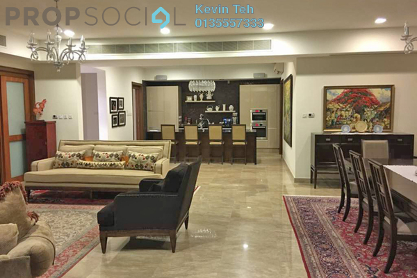 For Sale Condominium at 10 Mont Kiara, Mont Kiara Freehold Semi Furnished 4R/5B 3.5m
