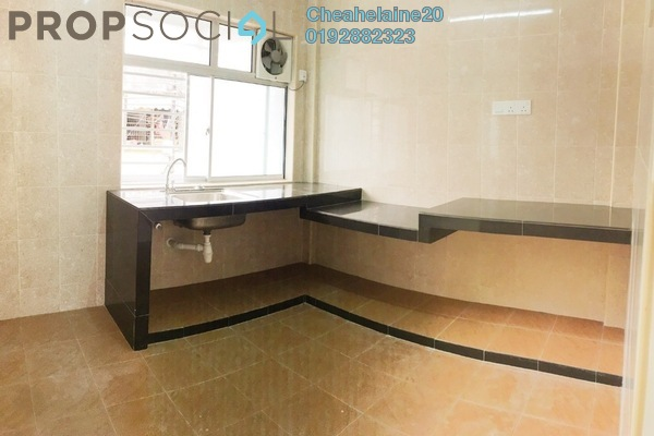 For Sale Townhouse at Taman Bamboo, Jalan Ipoh Freehold Semi Furnished 4R/2B 450k