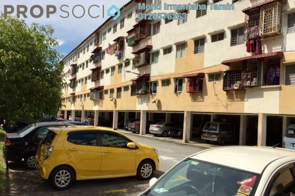 For Sale Apartment at Nuri Apartment, Bandar Bukit Mahkota Freehold Fully Furnished 3R/2B 125k
