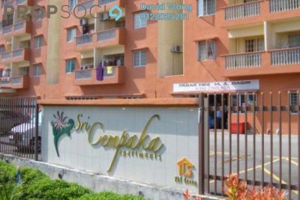For Rent Apartment at Sri Cempaka Apartment, Kajang Freehold Semi Furnished 3R/2B 1.15k