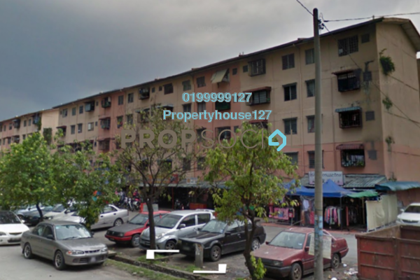 For Sale Apartment at Taman Puchong Permai, Puchong Leasehold Semi Furnished 3R/0B 100k