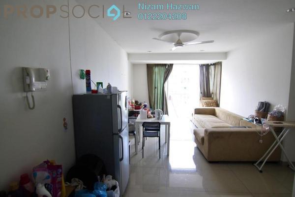 For Sale Condominium at Menara U, Shah Alam Freehold Fully Furnished 2R/1B 320k