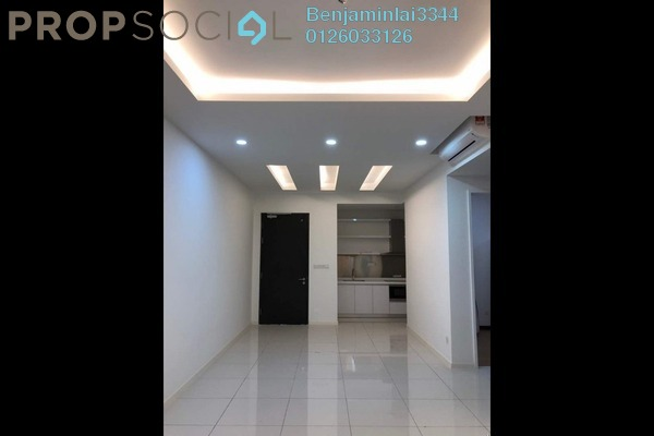 For Rent Condominium at Aurora Tower, KLCC Freehold Semi Furnished 2R/2B 1.8k