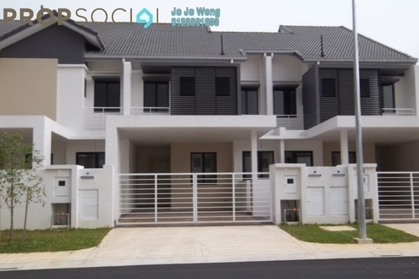 For Rent Terrace at Clover Park, Denai Alam Freehold Fully Furnished 4R/4B 2.3k