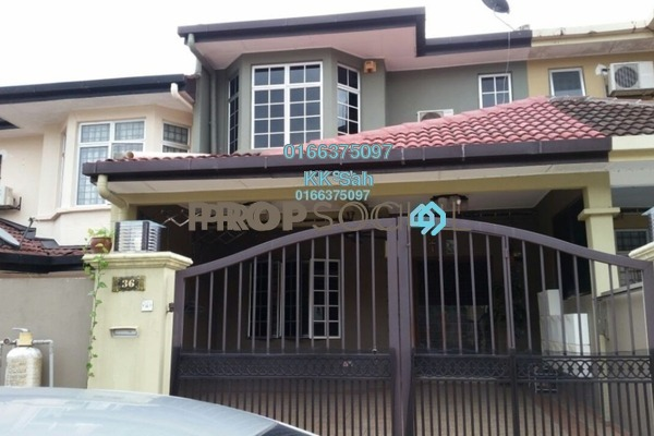 For Sale Terrace at Section 2, Bandar Mahkota Cheras Freehold Semi Furnished 4R/3B 560k