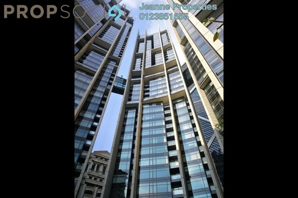 For Rent Condominium at The Troika, KLCC Freehold Fully Furnished 3R/4B 15k
