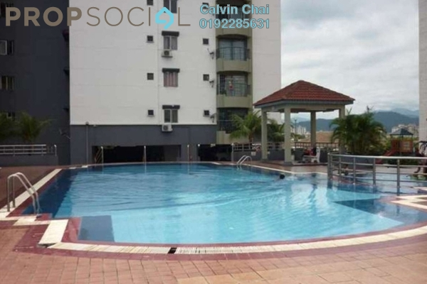 For Rent Condominium at Pandan Villa, Pandan Indah Freehold Unfurnished 3R/2B 1.55k