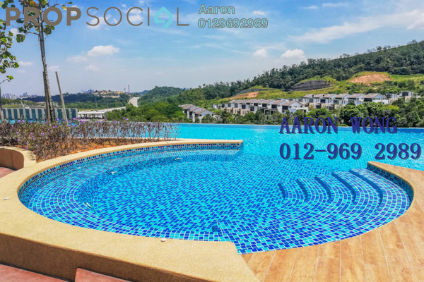 For Rent Condominium at Sutera Pines, Bandar Sungai Long Freehold Semi Furnished 3R/2B 1.4k