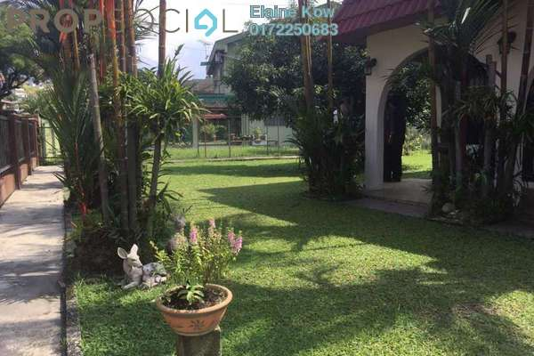 For Sale Bungalow at Taman Ibukota, Setapak Freehold Semi Furnished 5R/4B 2.5m