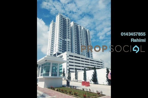 For Sale Condominium at Puncak 7 Residences, Shah Alam Leasehold Unfurnished 3R/3B 600k