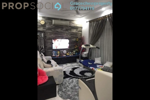 For Sale Terrace at Taman Daya, Tebrau Freehold Fully Furnished 4R/3B 550k