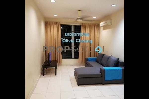 For Rent Apartment at Casa Tiara, Subang Jaya Freehold Fully Furnished 3R/2B 1.9k