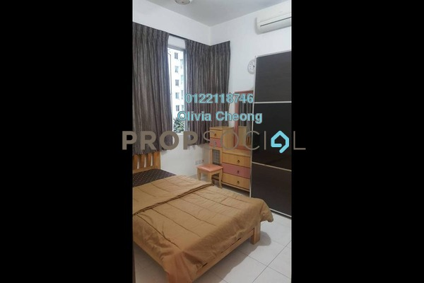 For Rent Apartment at Casa Tiara, Subang Jaya Freehold Fully Furnished 3R/2B 2.1k