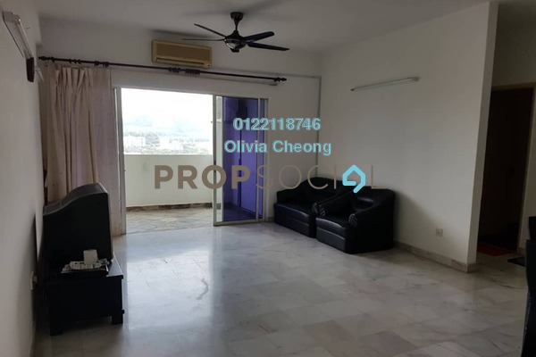 For Rent Apartment at Seri Puri, Kepong Freehold Semi Furnished 3R/2B 1.2千